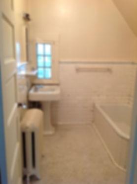 retro bathroom before