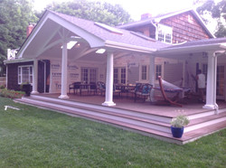 Roof and deck