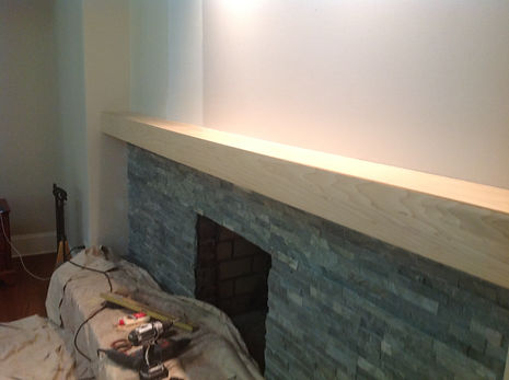 fireplace reface