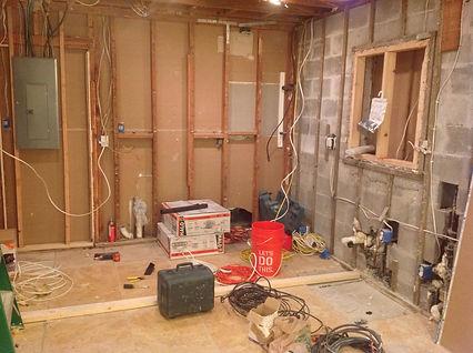 kitchen gut by cz construction
