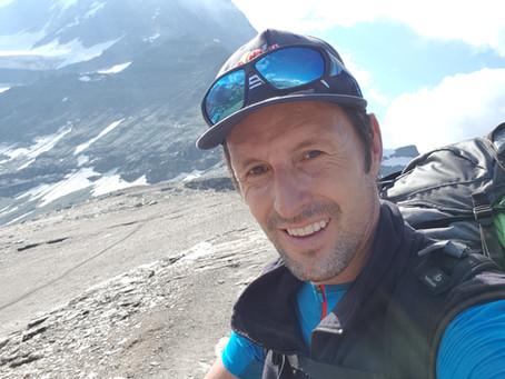 Das Matterhorn 4478m - Berg der Superlative - Abstieg mit dem Gleitschirm