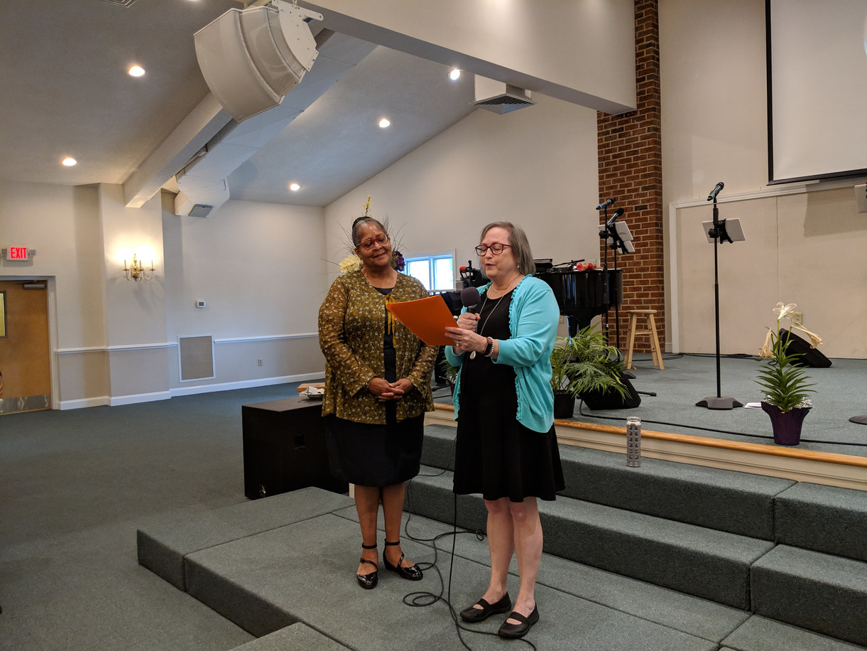 Deaconess Installation on 5_5_19 for the