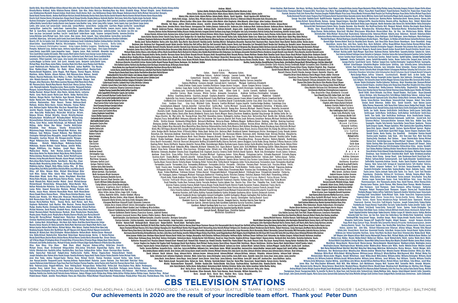 Broadcast and Cable Ad CBS