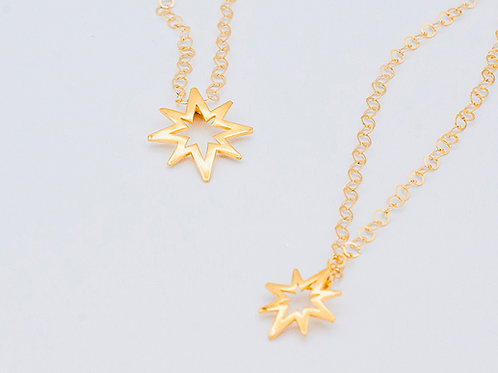 Gold Believe Necklace (medium & small shown. click for size and pricing)