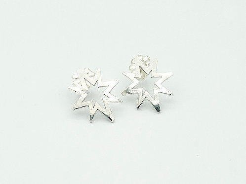 Silver Earrings on Post (click for size and pricing details)