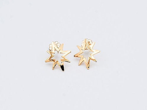 Gold Earrings on Post (click for size and pricing details)
