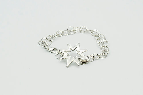 Silver Believe Bracelet (click for size and pricing details)