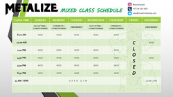 JULY 2021 UPDATED SCHED