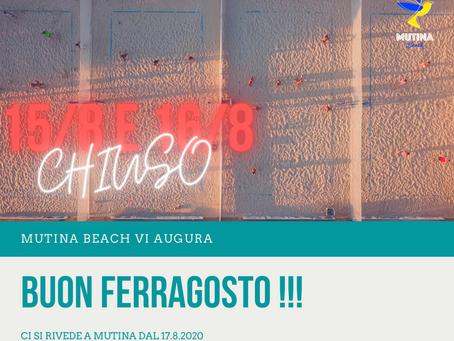 BUON FERRAGOSTO!!!