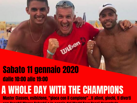 A whole day with the Champions