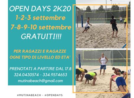 """""""Think positive"""" ...Open days a Mutina Beach la nuova stagione di beach volley"""