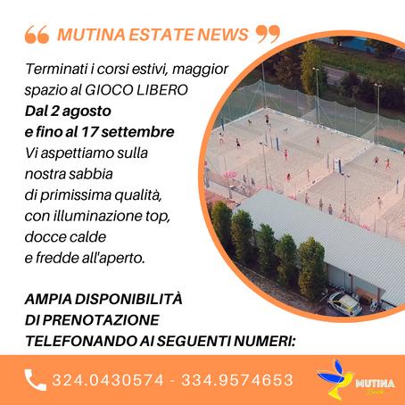 MUTINA ESTATE NEWS