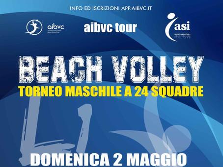 Torneo L1 AIBVC Series di Beach Volley - Domenica 2 Maggio 2021