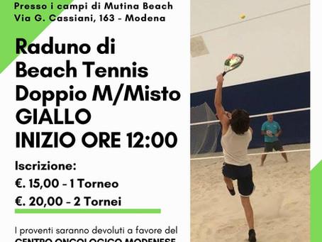 Raduno di Beach tennis Doppio M/Misto Giallo