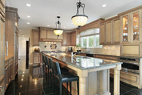 Stunning Remodeled Kitchen with large Island