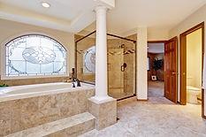 Beautiful Remodeled Bathroom. We make Bathroom Remodel Dreams Come True!