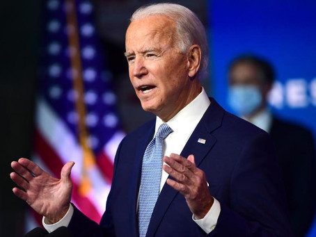Biden's inauguration - Green Day ahead?