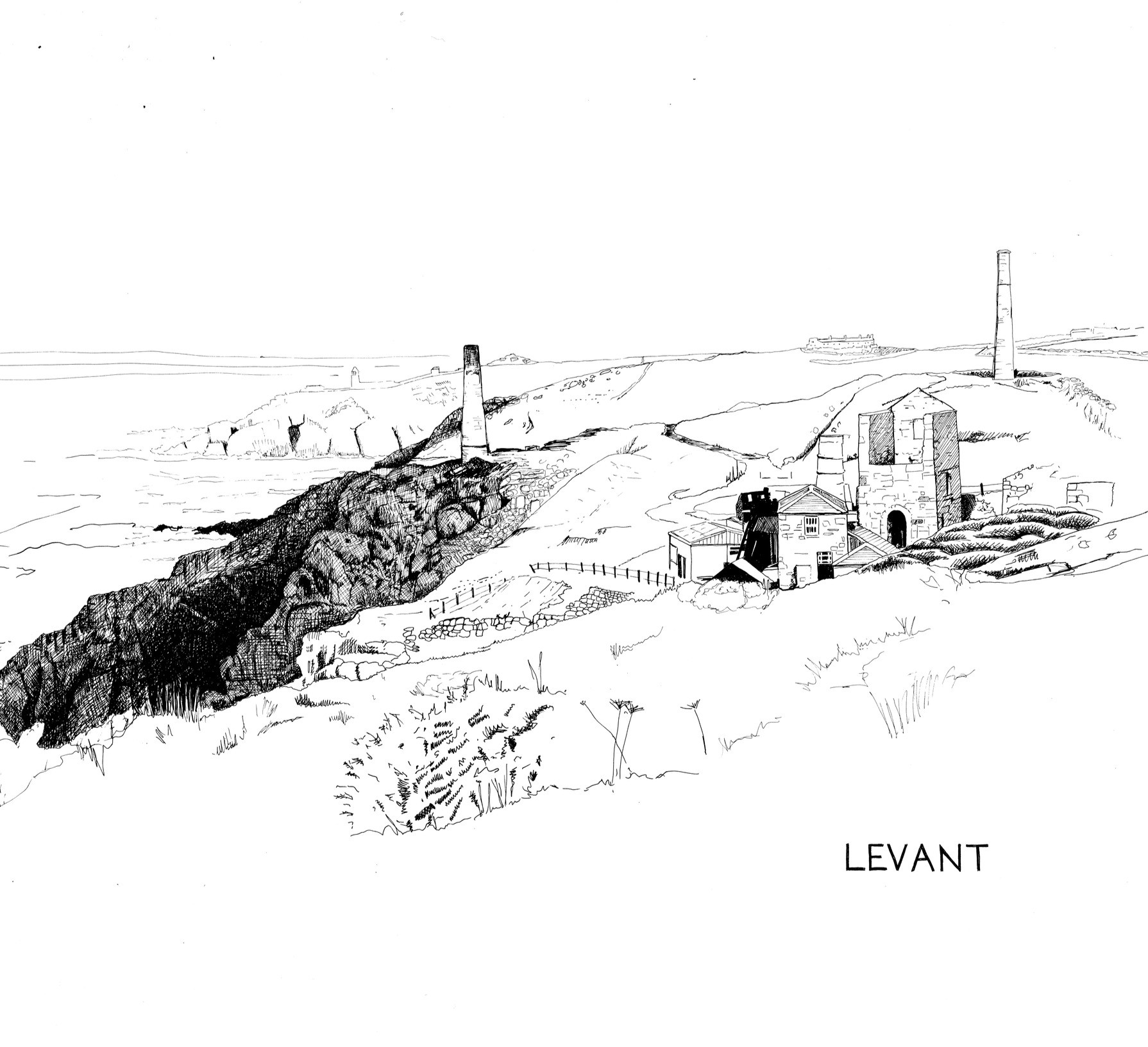 DRAWING OF LEVANT MINE