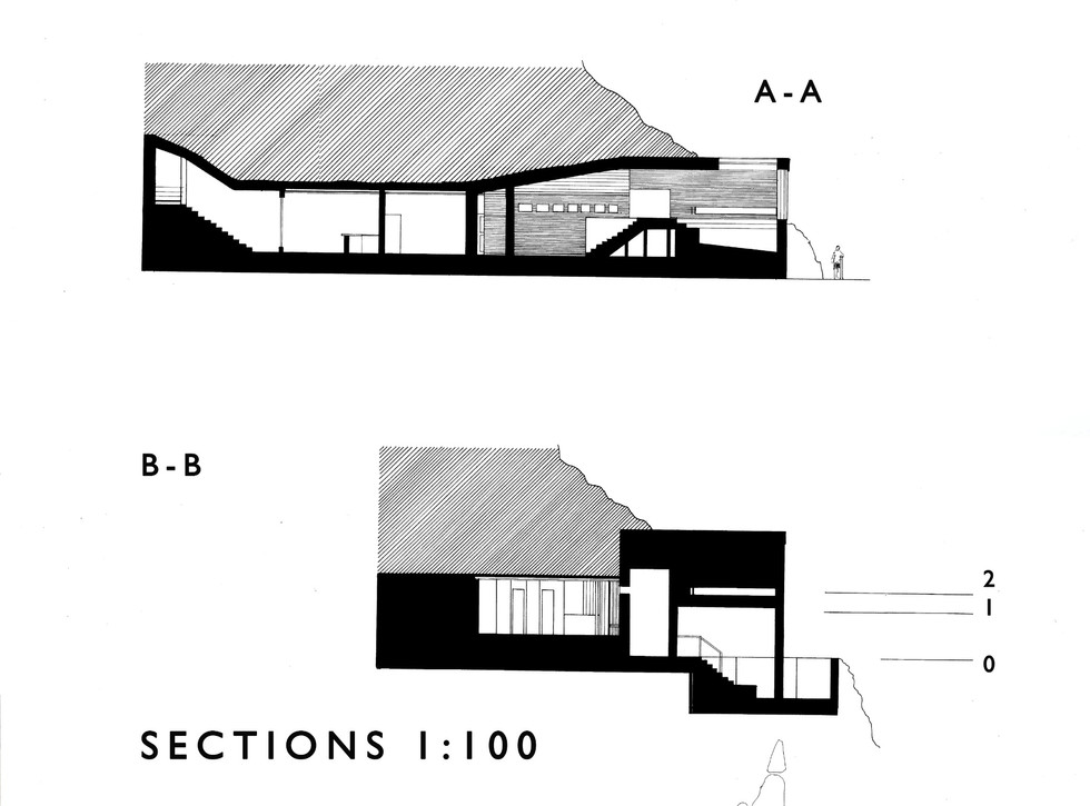 HAND-DRAWN SECTIONS FOR 'THE DRY'