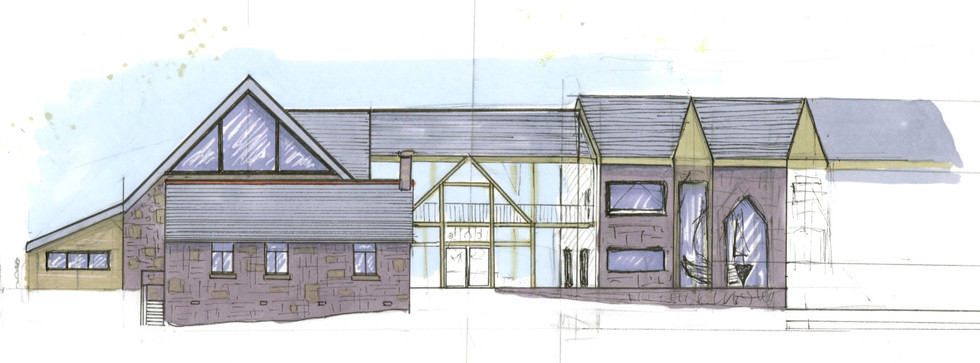 DEVELOPMENT DRAWINGS FOR ELEVATIONS  'A CENTRE FOR LIFE ON SCILLY'