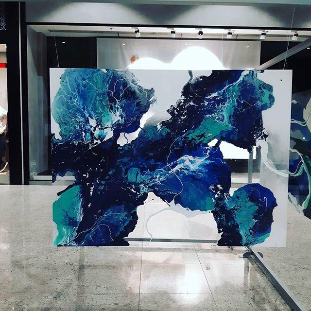 GRENZE...#acrylicfluidart #acrylicpaint