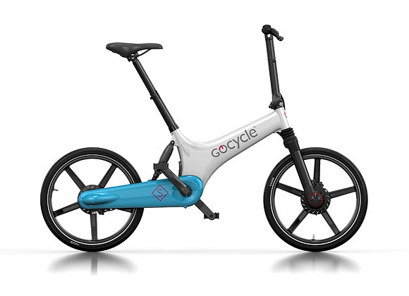Gocycle GS White-Light Blue
