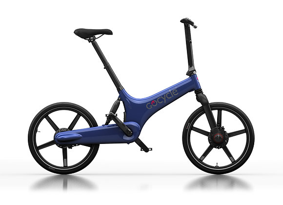 Gocycle G3 Electric Blue
