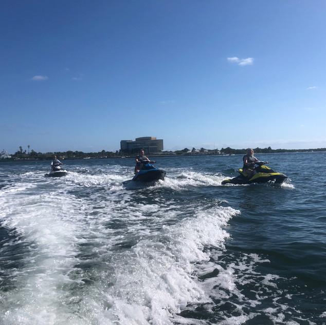 Jet Ski rental with ocean