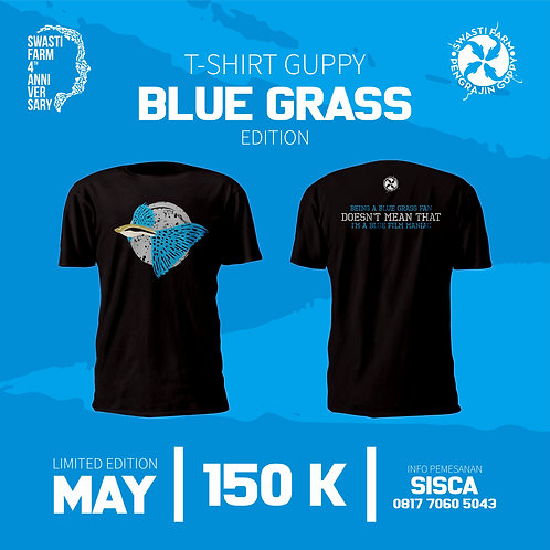T-SHIRT GUPPY BLUE GRASS EDITION