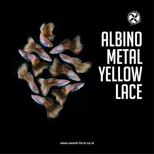 ALBINO METAL YELLOW LACE