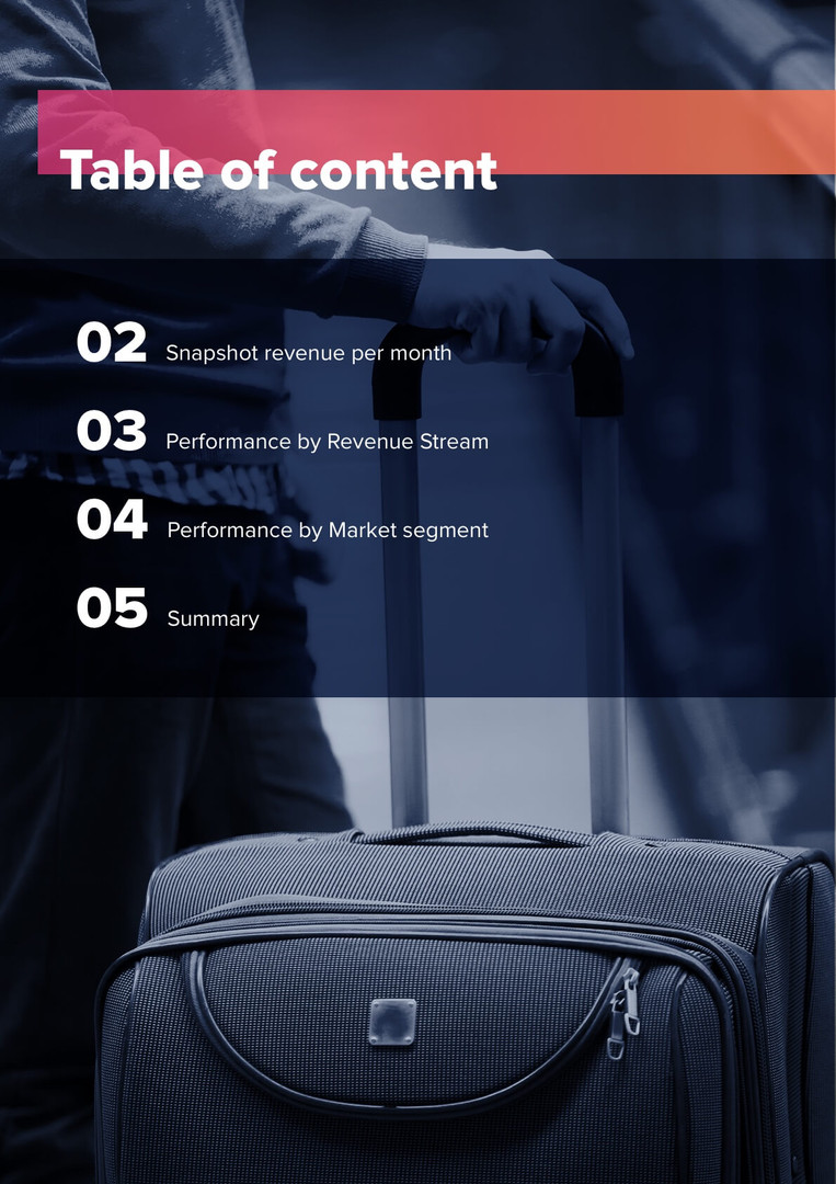 Reports - Tabe of content