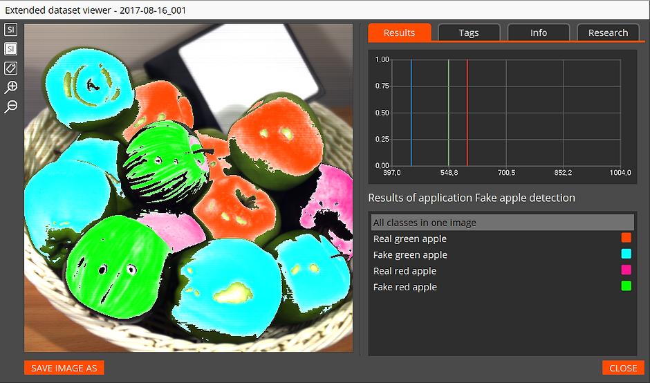 SPECIM IQ Studio software