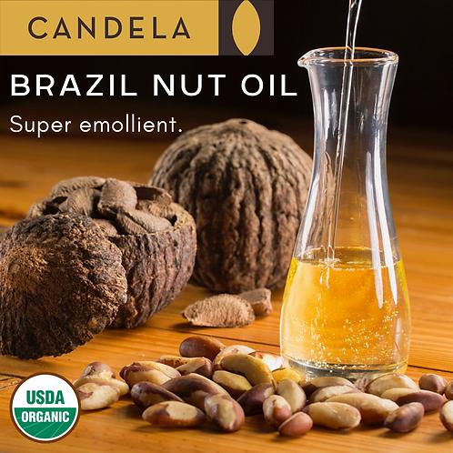Raw Organic Brazil Nut Oil. Food Grade.