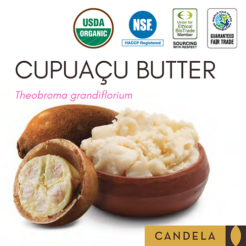 Cupuaçu Butter (Raw, Organic or Deodorized)
