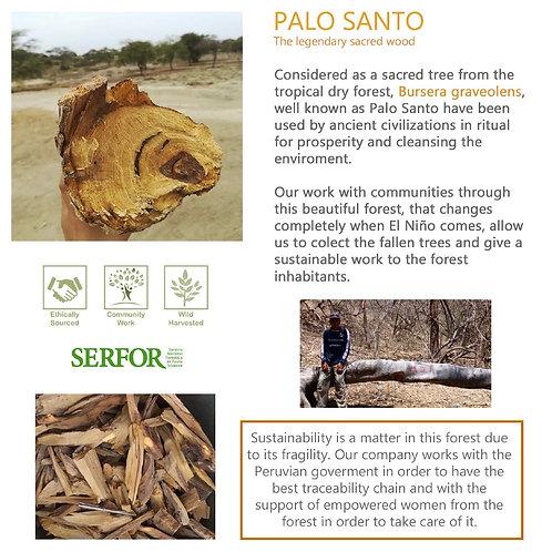 1kg (1.1L / 37.2 fl oz) Palo Santo Essential Oil (Bursera graveolens)