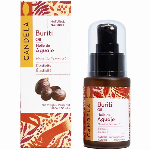 Wild Buriti Oil (Aguaje Oil) for Sun Damaged Skin 30ml (1 fl oz)