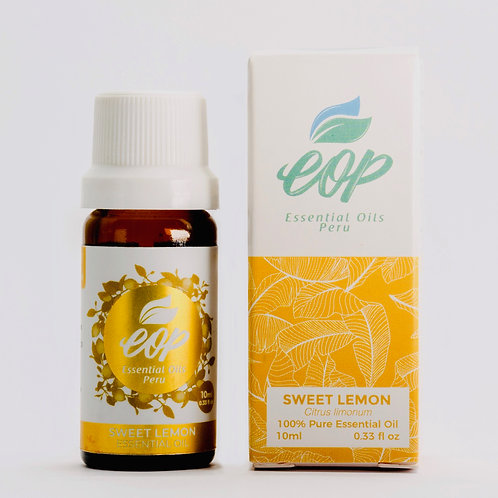 Sweet Lemon Essential Oil 10ml (0.33 fl oz)