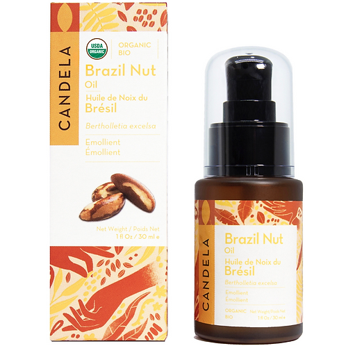 Organic Brazil Nut Natural Moisturizer 30ml (1 fl oz)