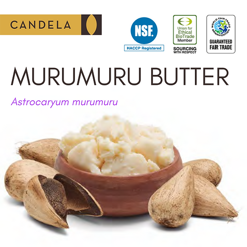 Murumuru Butter (Raw or Deodorized)