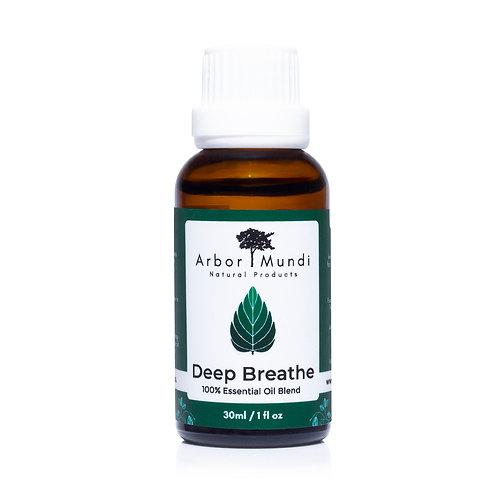 Deep Breathe Essential Oil Blend - 30ml (1fl oz)