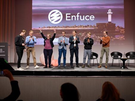 Lighthouse 2018 winner remarks - Enfuce