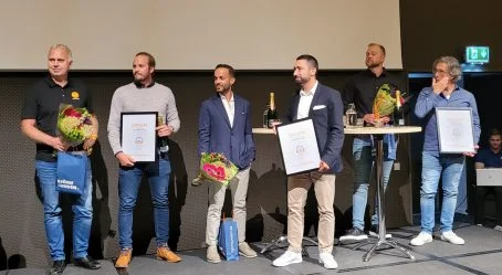 Slipp receives the award for Most Innovative Agency of the Year