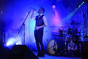 Great band lighting hire at a wedding