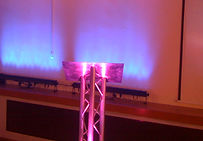 TRilite lectern being used at a conference