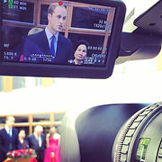Camera hire  oxford university with prince william