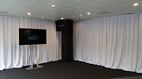 A lrage format Plasma LED screen hired to IHG for a corporate event