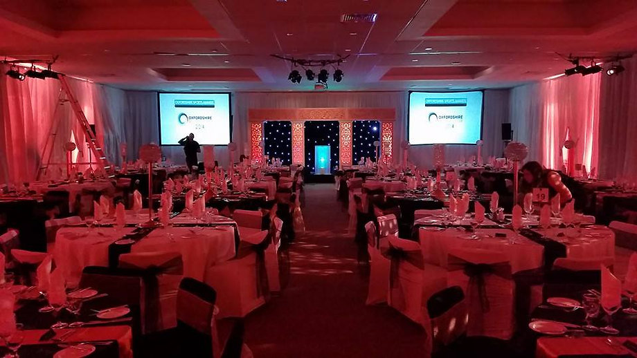 Event Services and hire in Oxford