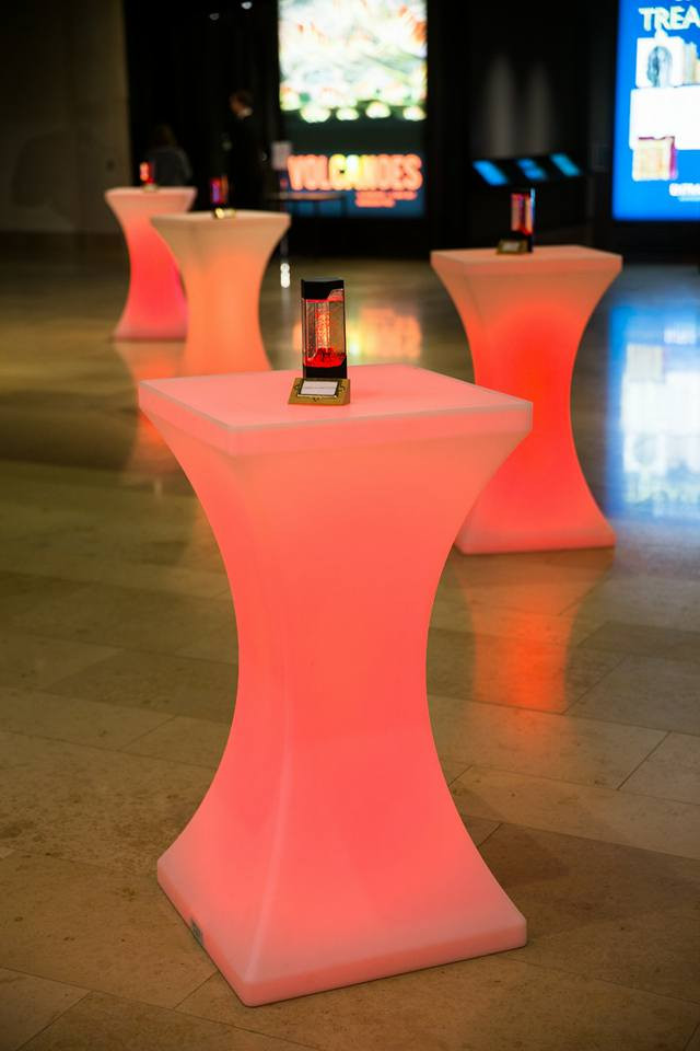 LED poseur table hire oxford