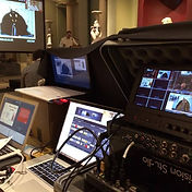 Video switching for a conference at ashmolean Oxford