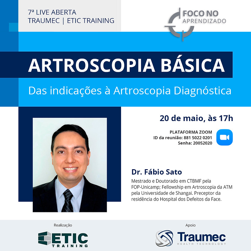 Artroscopia Básica - Dr. Fábio Sato